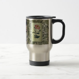 Victorian Flowers Stainless Mug