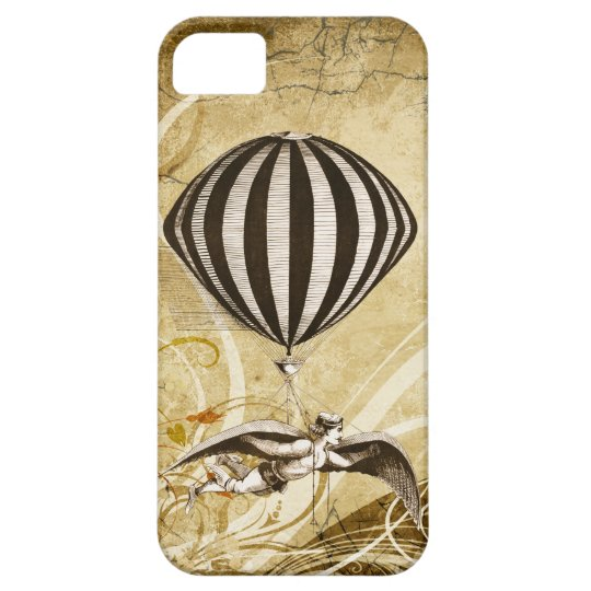 Victorian Flying Man iPhone 5 Cases