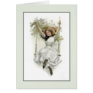 Victorian Fun 60th or Any Age Birthday Greeting Card