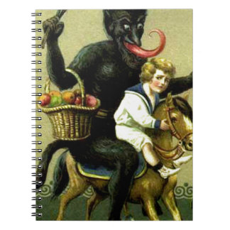 Victorian German Krampus Notebook