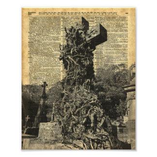 Victorian Gothic Graves,Tombstones Halloween Art Photograph