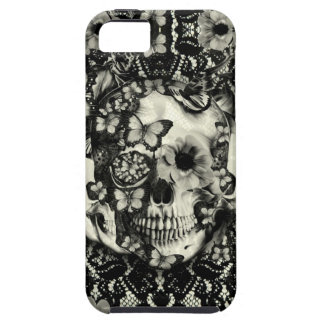 Victorian gothic lace skull iPhone 5 covers