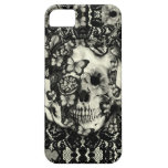 Victorian gothic lace skull pattern case for the iPhone 5