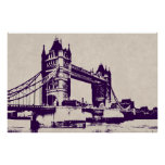 VICTORIAN GOTHIC TOWER BRIDGE - LONDON