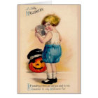 Victorian Halloween Fun Greeting Card