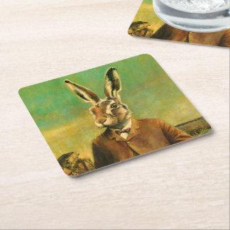Victorian Hare Custom Coaster