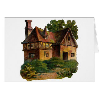 Victorian House Card