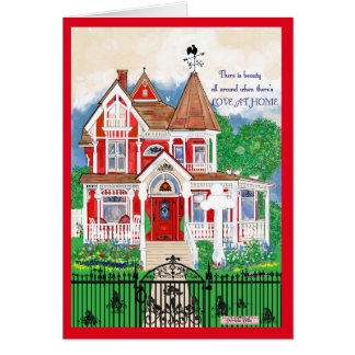 Victorian House greeting/note cards