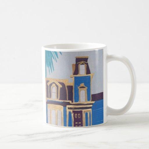 victorian house coffee mugs