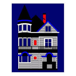 Victorian House Postcard