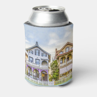 Victorian House Row Can Cooler