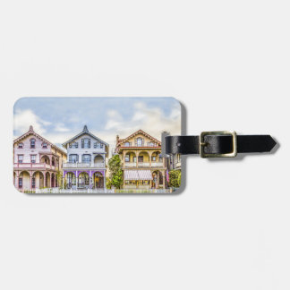 Victorian House Row Luggage Tag