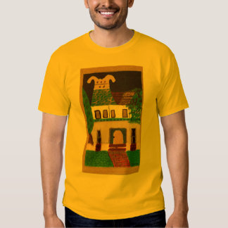 victorian house t shirt