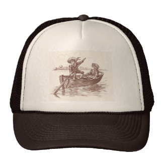 Victorian in Rowboat Cap