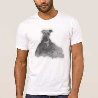 Victorian inspired Airedale Terrier Tshirt
