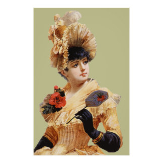 Victorian Lady Poster