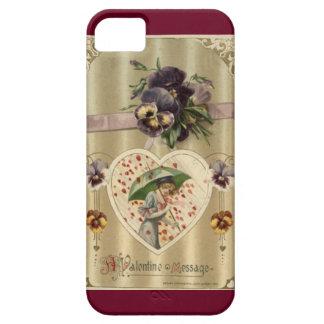 Victorian Lady Vintage Valentine iPhone 5/5S Case