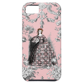 Victorian Lass on Dauphine Pink iPhone 5 Covers