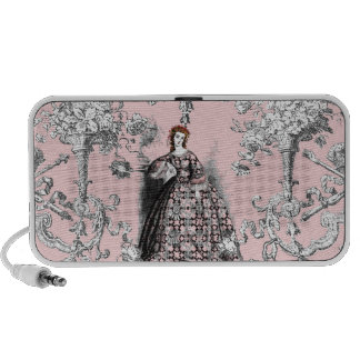 Victorian Lass on Dauphine Pink Speaker System