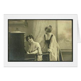 Victorian Lesbian Valentine's Day Card
