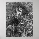 Victorian London - A City Throughfare Poster