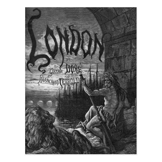 Victorian London - Father Thames Postcard
