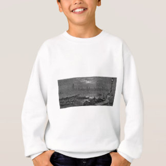Victorian London - Houses of Parliament by Night Sweatshirt