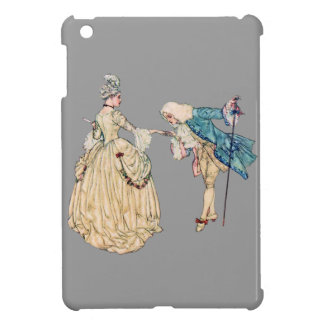 Victorian Lord And Lady Illustration Cover For The iPad Mini