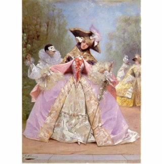 Victorian Masquerade Ball Photo Sculpture