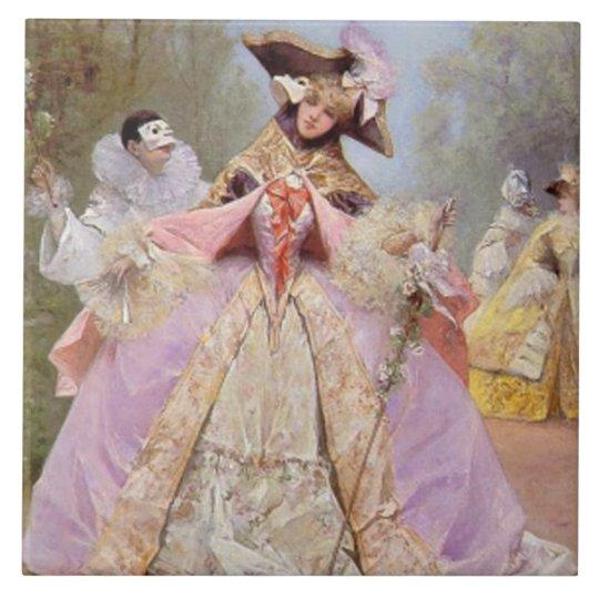 Victorian Masquerade Ball Tile