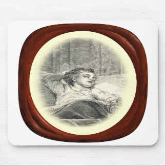 Victorian Mother Watching Over Child Mousepad