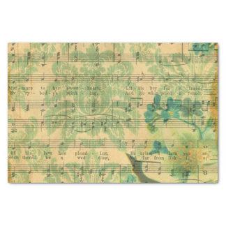Victorian Music Sheet Wallpaper