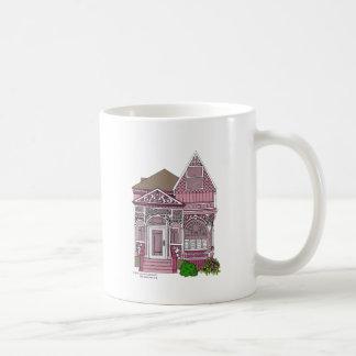 "Victorian ""Painted Lady"" - pink Mug"