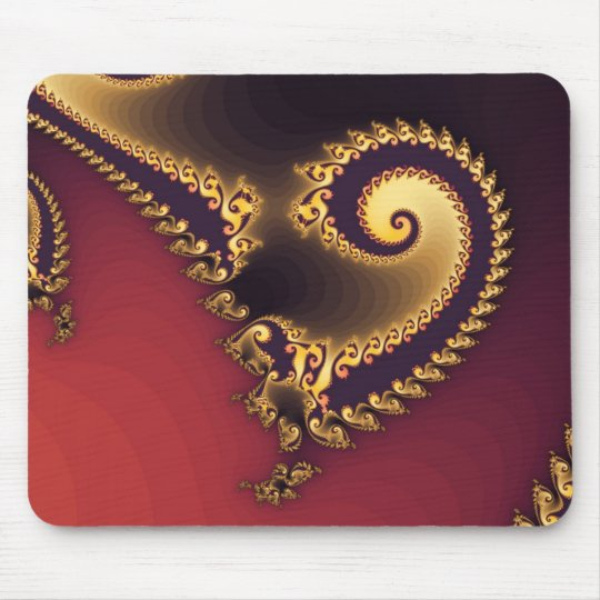 Victorian Paisley Mouse Pad