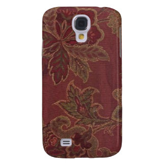 Victorian Paisley Wine 3G/3GS Galaxy S4 Case