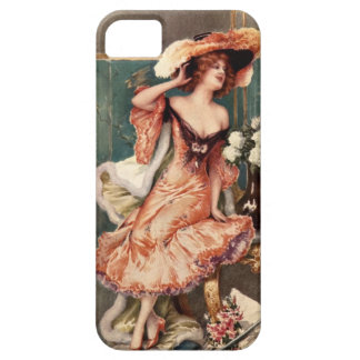 Victorian Pin Up Girl Dress Fashion Costume Paris Case For The iPhone 5