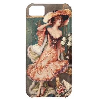 Victorian Pin Up Girl Dress Fashion Costume Paris iPhone 5C Case