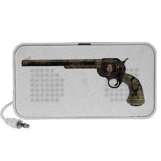 Victorian Pistol Notebook Speakers