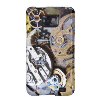 Victorian Pocket Watch Gear Photo of Clockwork Samsung Galaxy Covers