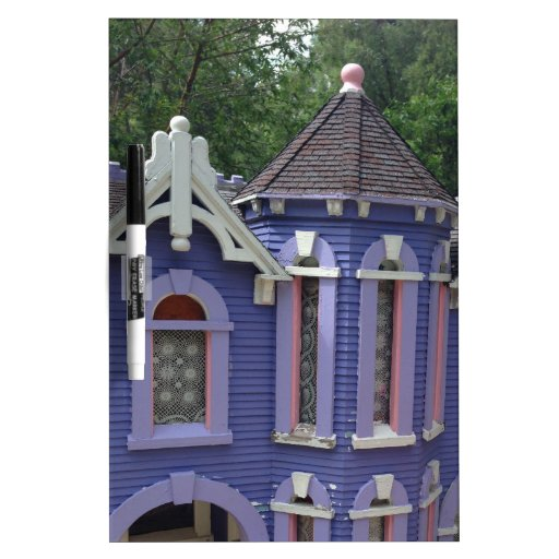 Victorian Purple House Dry Erase Whiteboards