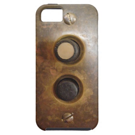 Victorian Push Button Light Switch iPhone 5 Cases