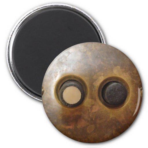 Victorian Push Button Light Switch Magnet