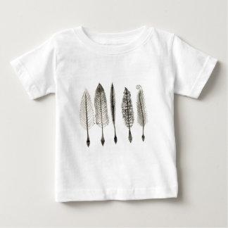 Victorian Quills Ink Design Baby T-Shirt