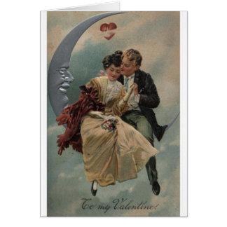 Victorian Romance Valentine's Day Card