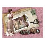 Victorian Romantic Love Letters Post Card