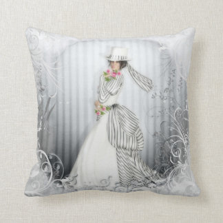 Victorian Rose American MoJo Pillows Throw Cushions