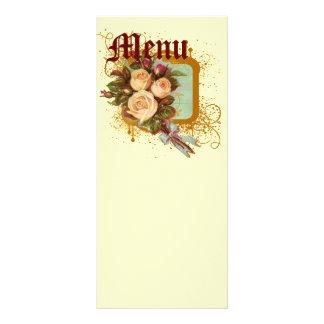 Victorian Rose Elegant Personalized Rack Card