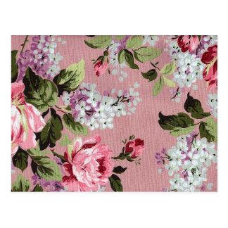 Victorian Rose Garden Postcard