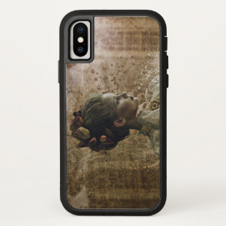 Victorian rose iPhone X Tough Xtreme Phone Case