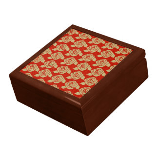 Victorian Rose Large Square Gift Box